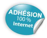 Adhésion en ligne